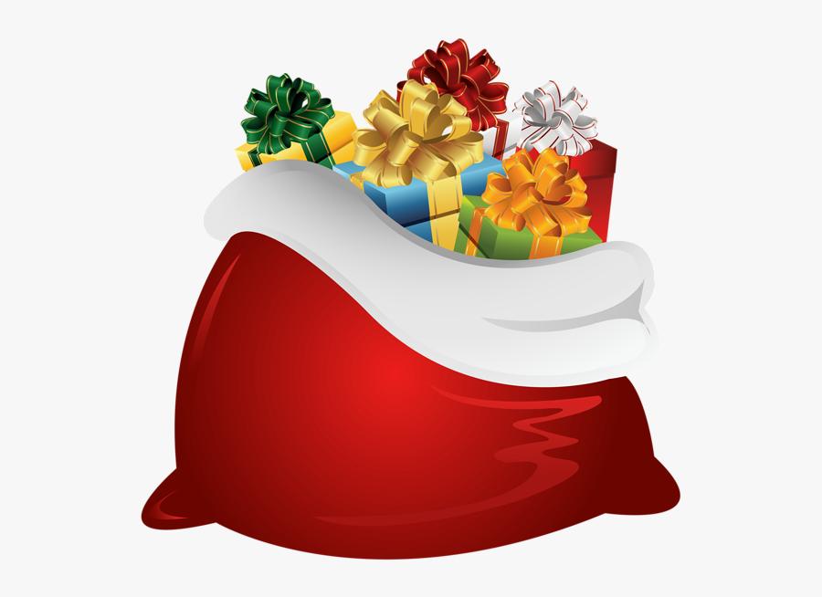 Santa Bag Png - Santa Claus Bag Png, Transparent Clipart