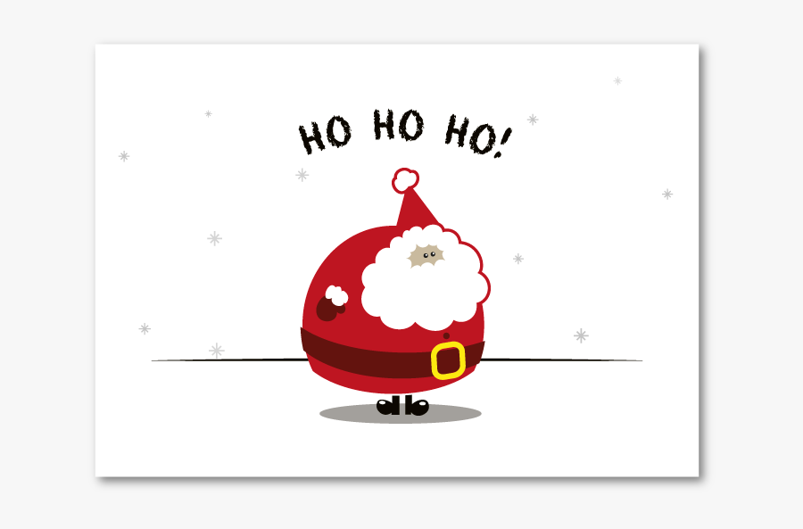 Christmas Cards Rudolph Elf Xmas Santa Claus Christmas - Cartoon, Transparent Clipart
