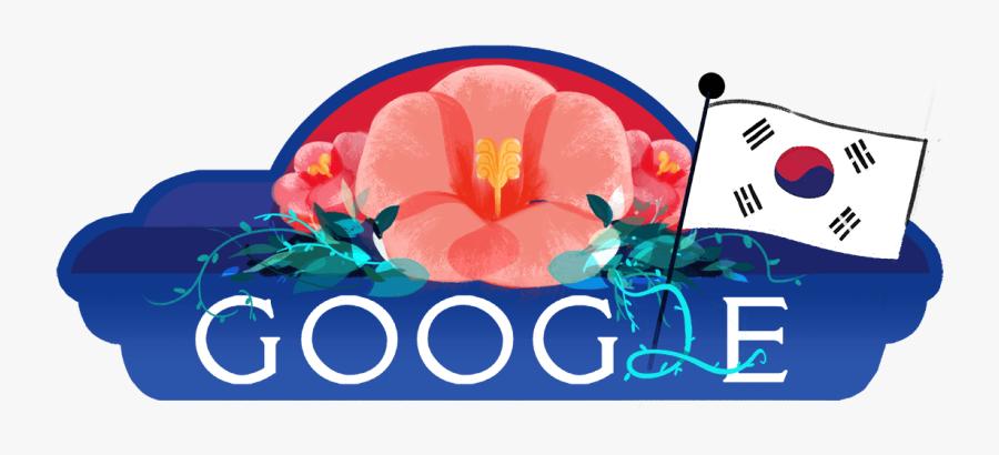 Google Doodle South Korea, Transparent Clipart