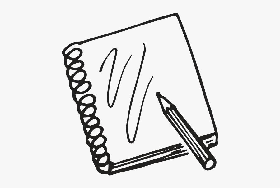 Sketchbook - Sketching Clipart, Transparent Clipart