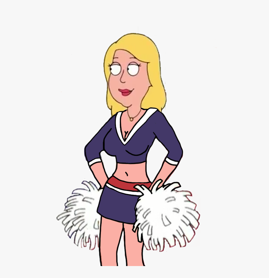 Hope Jennings As A Nep Cheerleader By Darthraner83 - Family Guy Jillian Hot, Transparent Clipart