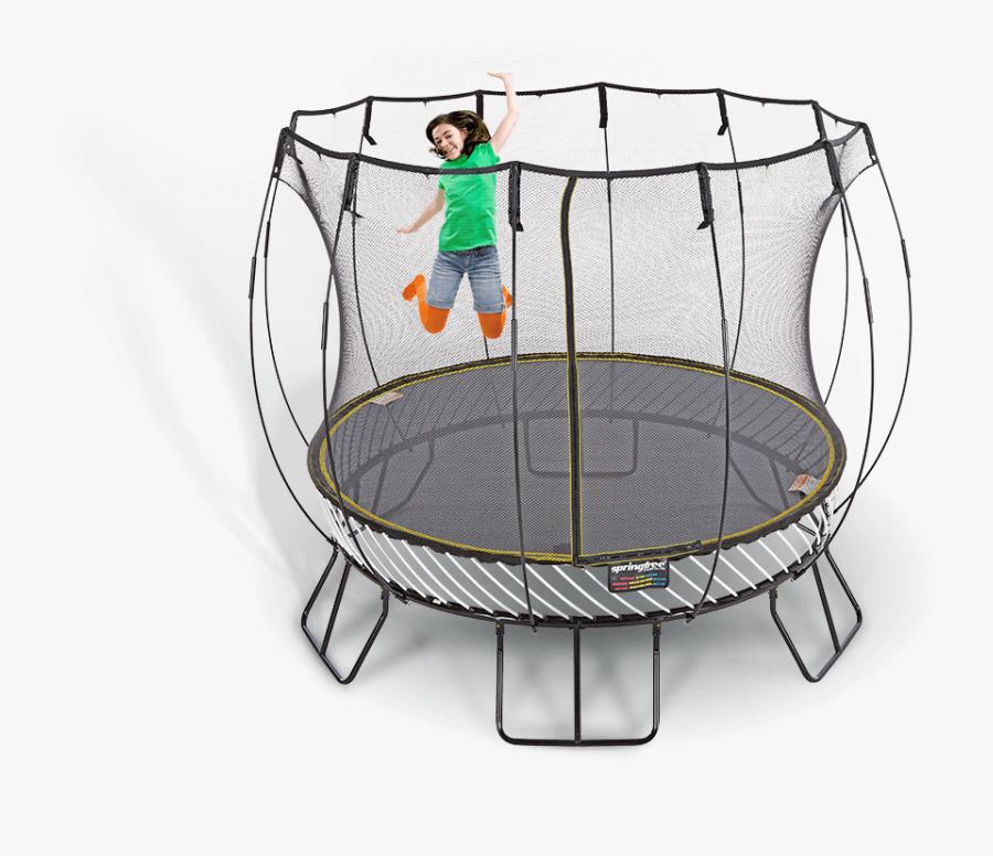 Image Description - Springfree R79 Round 10ft Trampoline, Transparent Clipart