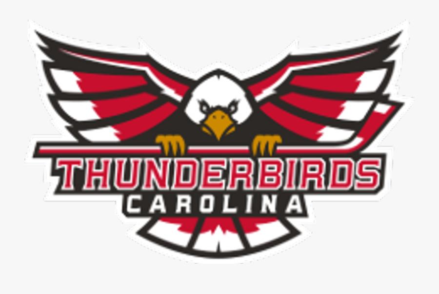 Carolina Thunderbirds Logo, Transparent Clipart