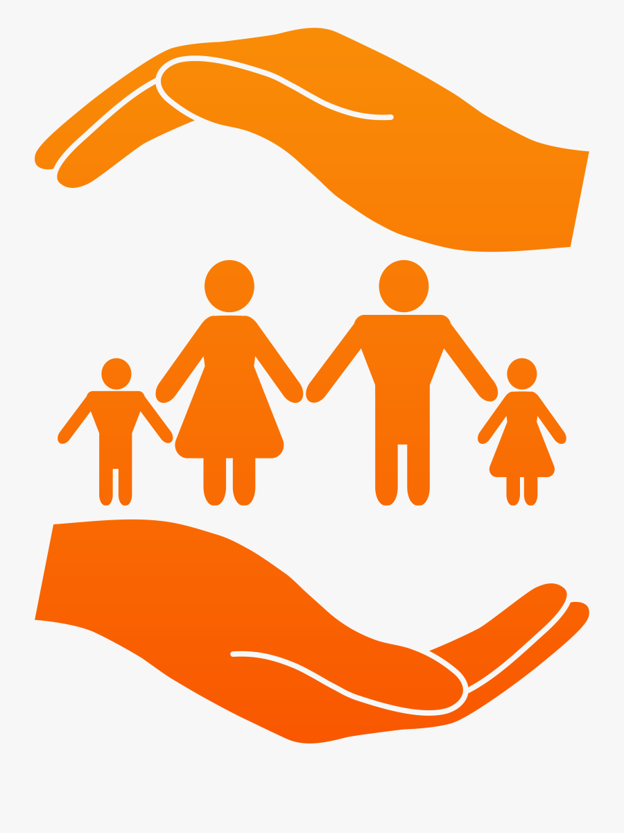Hands Holding People Icon, Transparent Clipart