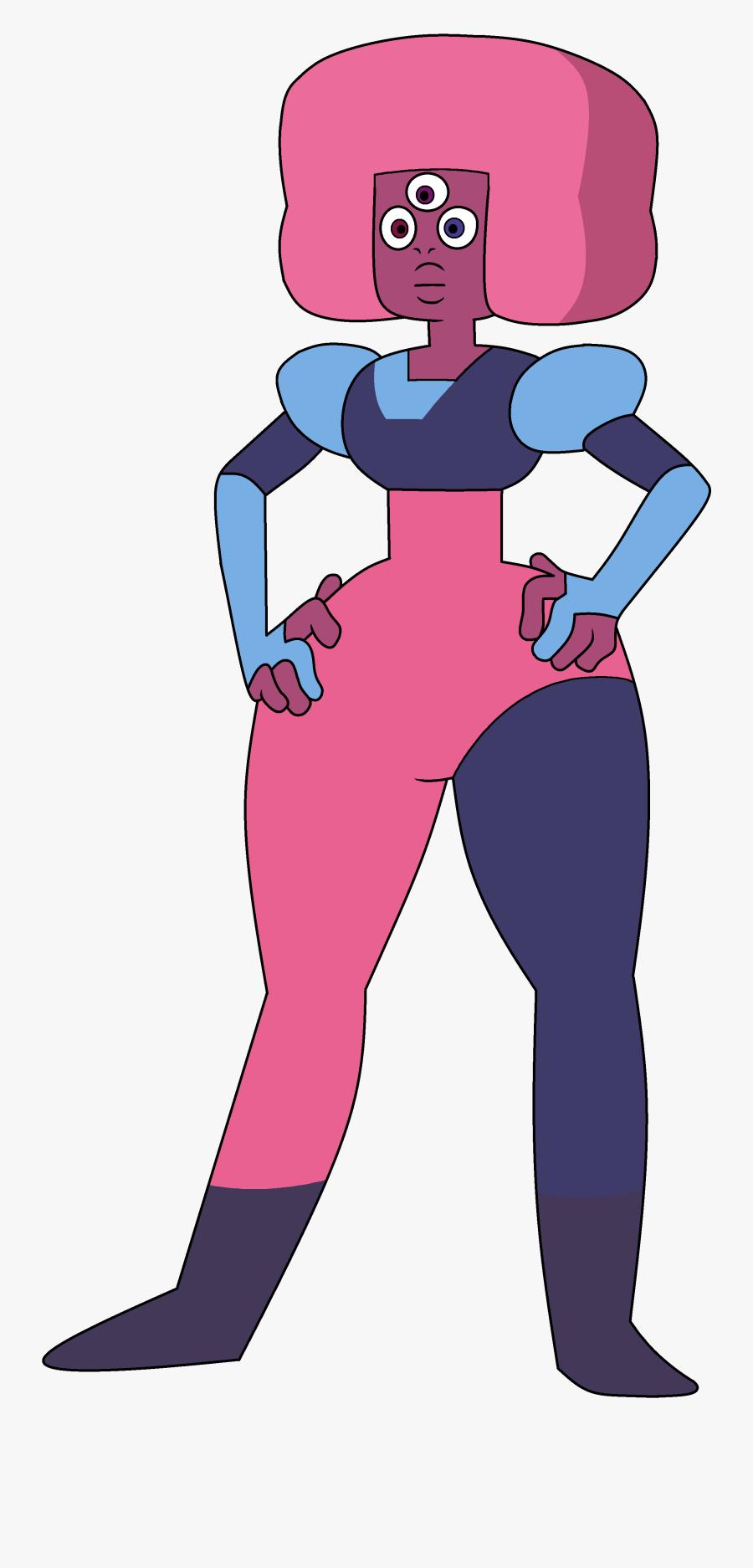 Garnet Regenerations Fan And Non-fan - Steven Universe Off Color Cotton Candy Garnet, Transparent Clipart