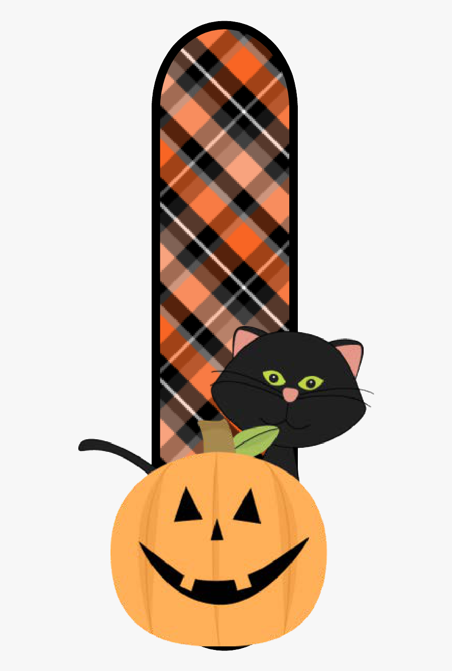 Transparent Samhain Clipart - Free Printable Letters For Halloween, Transparent Clipart