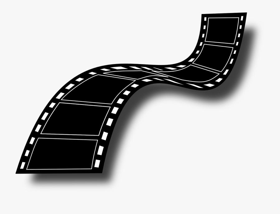 Negative, Strip, Black, Roll, Cinema, Film, Reel, Old - Clip Art Film Strips, Transparent Clipart