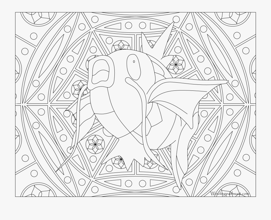 Ditto Coloring Pages - Vulpix Pokemon Coloring Pages, Transparent Clipart