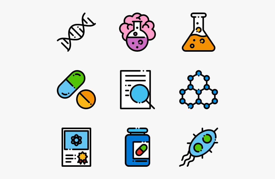 Science Research Icons Free - Researcher Icon Free Png, Transparent Clipart