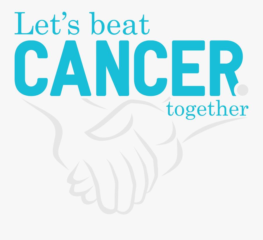 Science Wanderer On Twitter - Let's Beat Cancer Together, Transparent Clipart