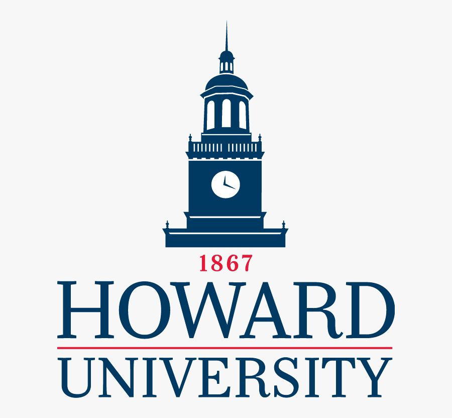 Howard University School Logo, Transparent Clipart