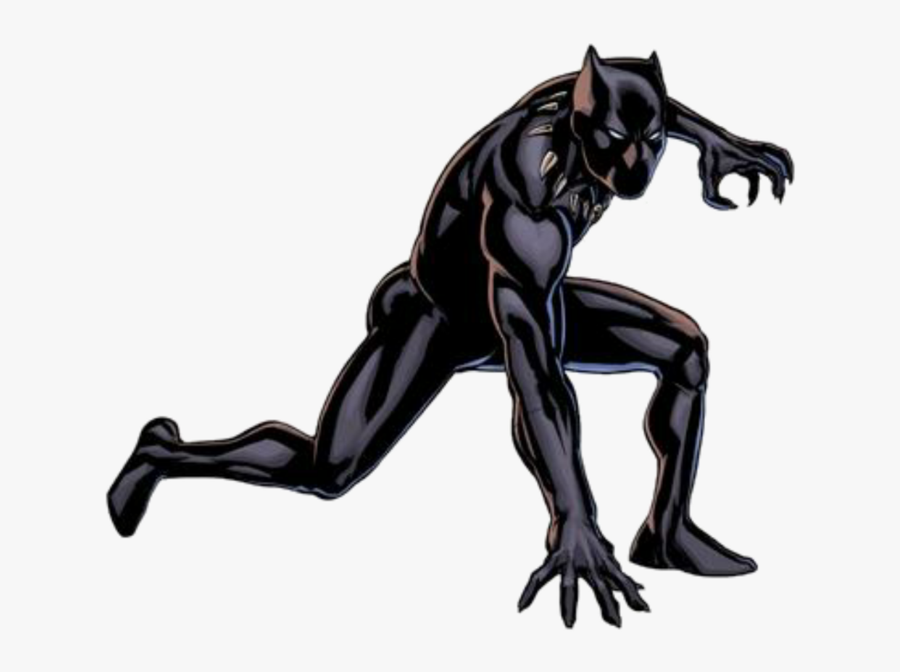 Black Panther Captain America Rocket Raccoon Star-lord - Marvel All New All Different Black Panther, Transparent Clipart