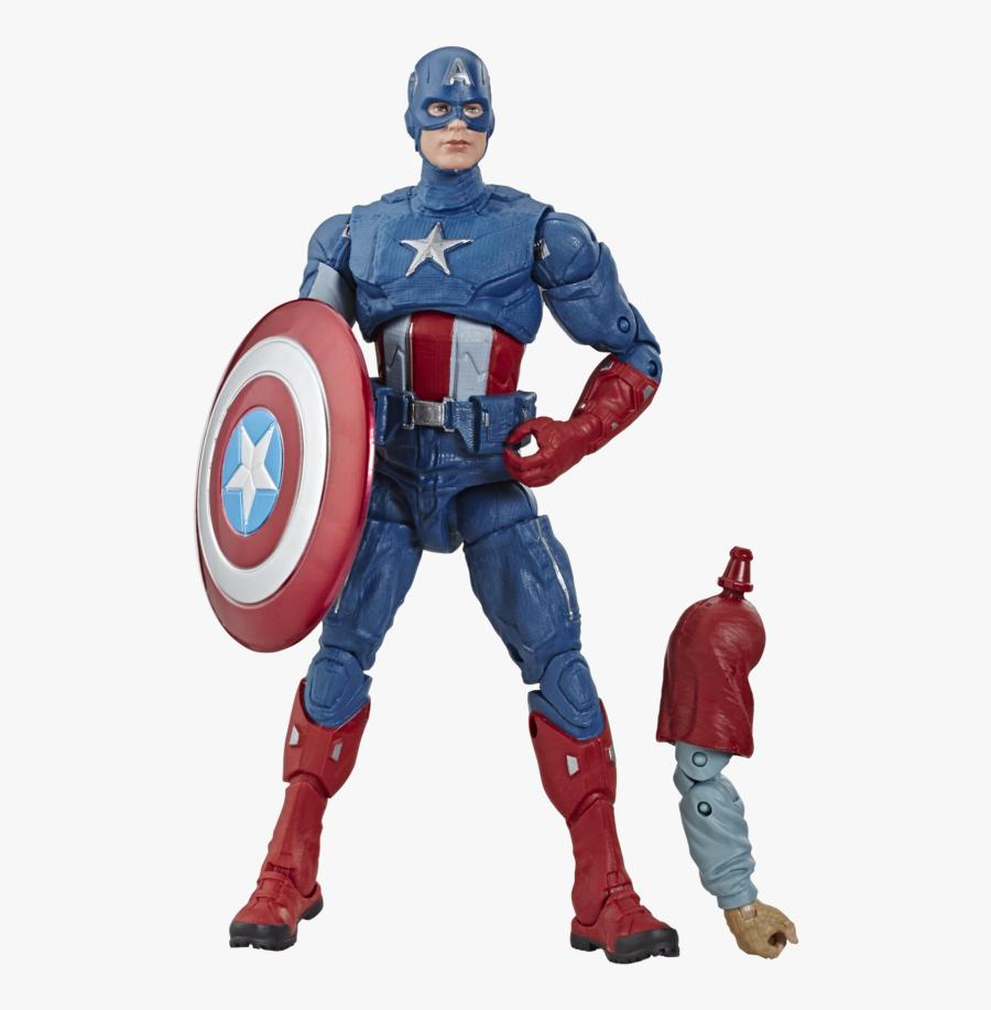 Marvel Legends Endgame Wave 3 Captain America, Transparent Clipart