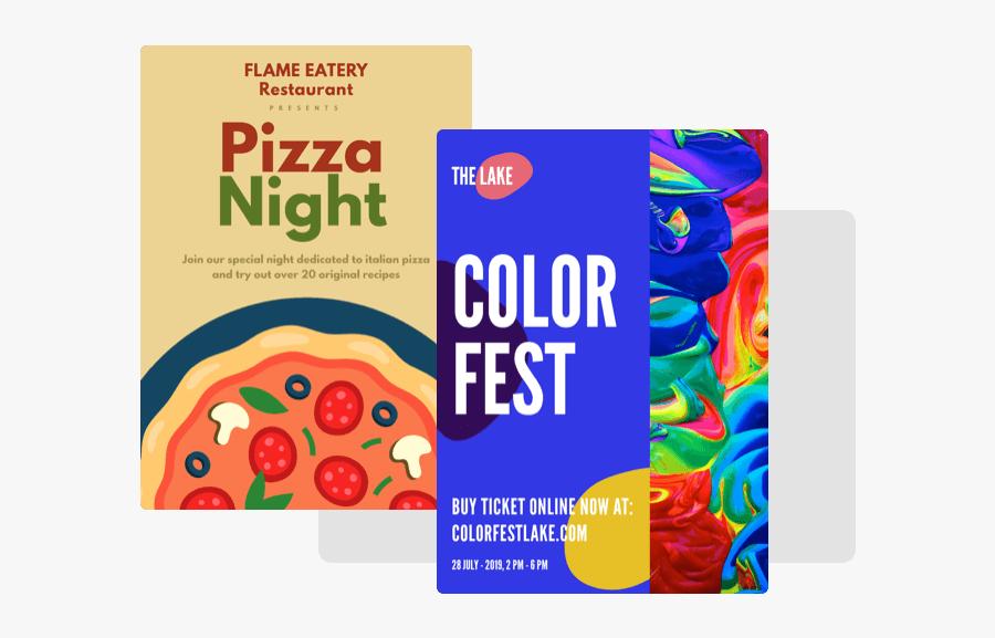 Poster Maker Software Header Image - Graphic Design, Transparent Clipart