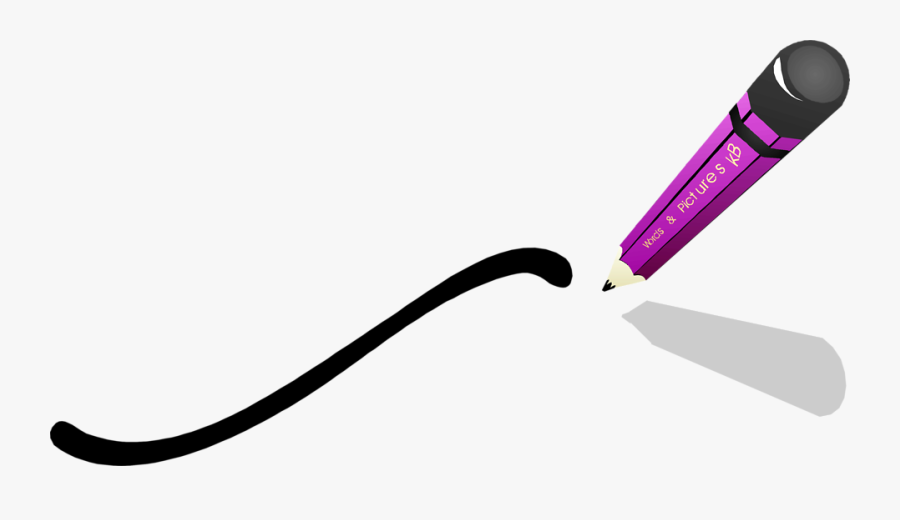 Free Clip Art Pictures - Pencil Drawing Transparent Background, Transparent Clipart