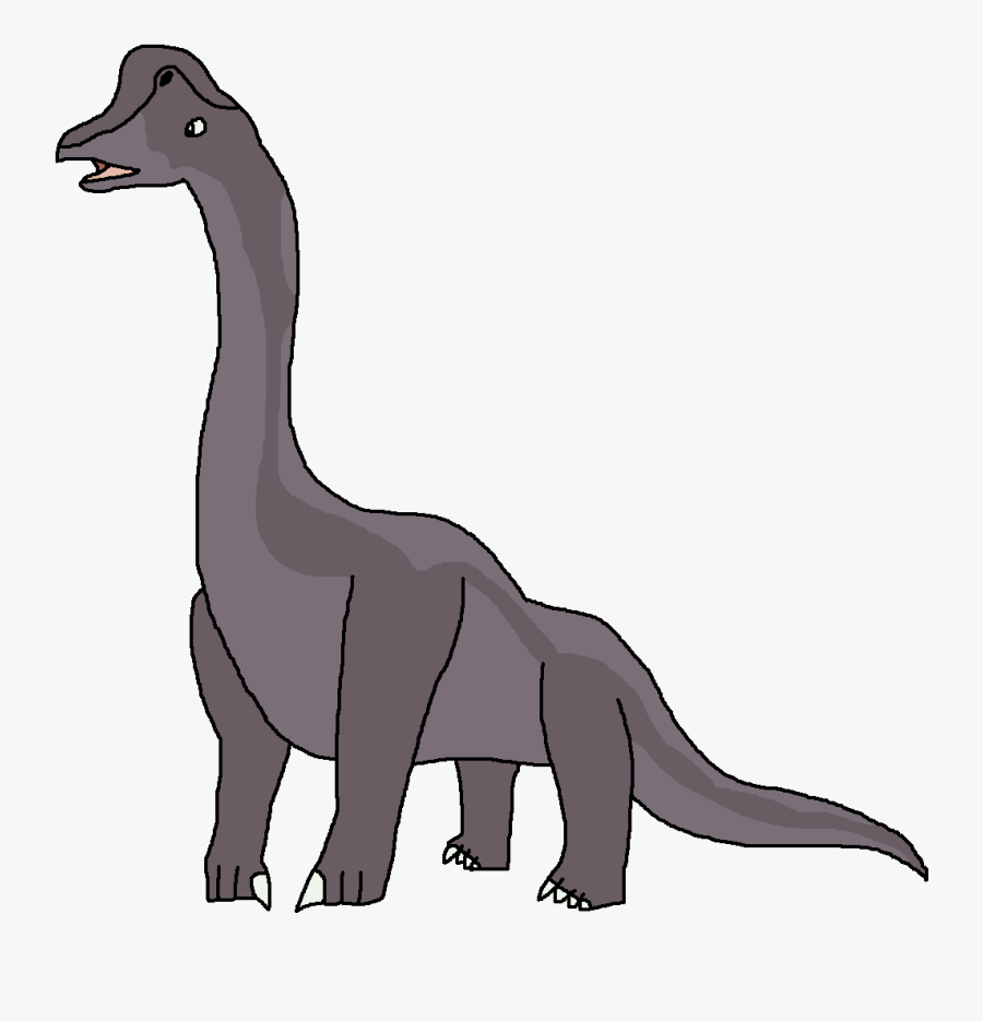 Dinosaur Clipart High Resolution - Dinosaur Pedia Wiki Giraffatitan, Transparent Clipart