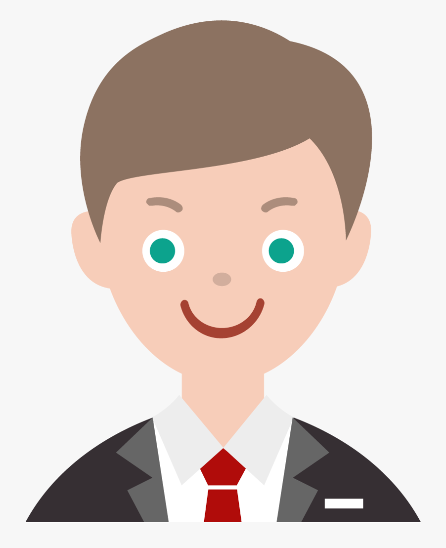 Hotel Receptionist Man Cartoon Png, Transparent Clipart