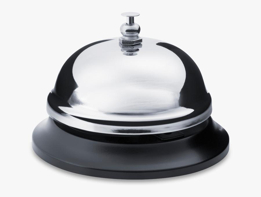 Service Bell - Transparent Hotel Bell, Transparent Clipart