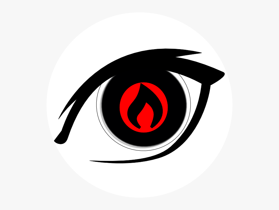 Fire In Eyes Clipart, Transparent Clipart