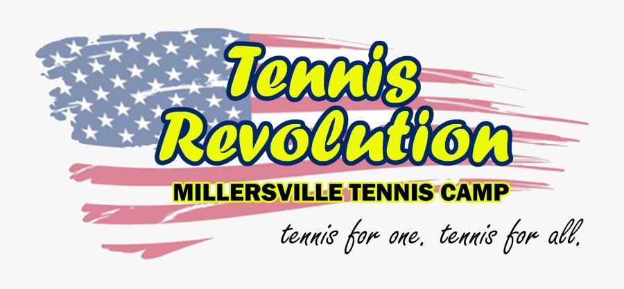 Tennis Revolution - Calligraphy, Transparent Clipart