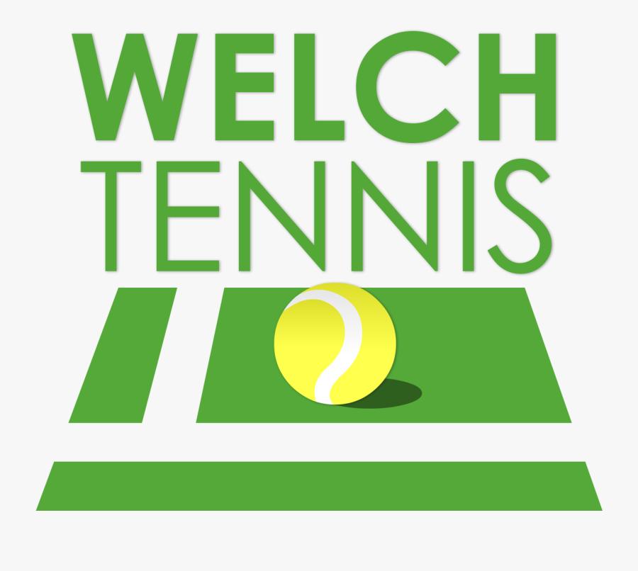 Welch Tennis - Tennis, Transparent Clipart