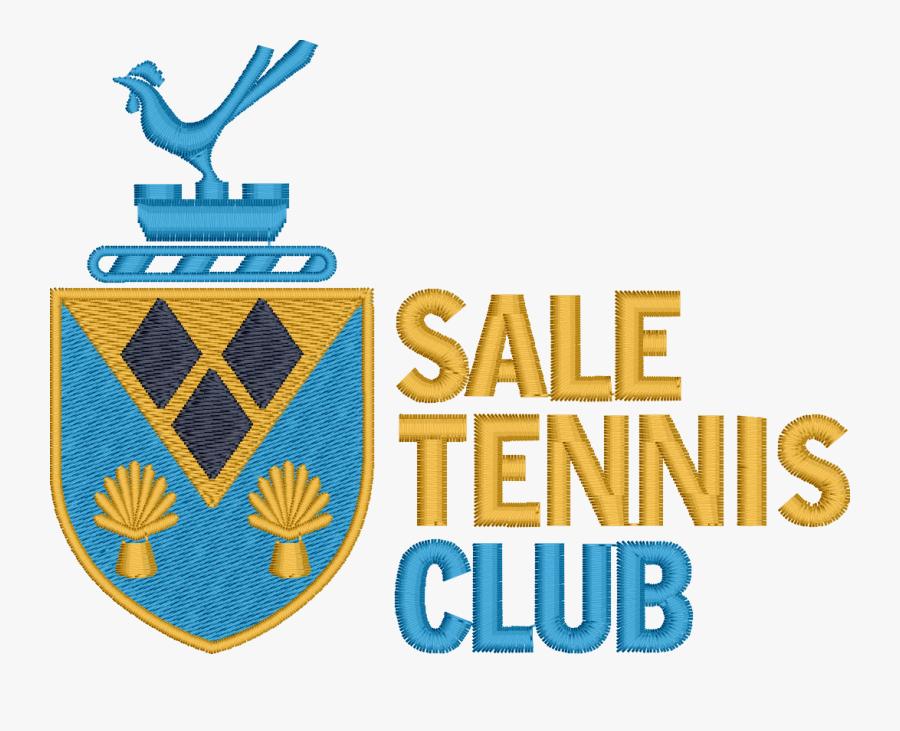Sale Tennis Club Seniors - Emblem, Transparent Clipart