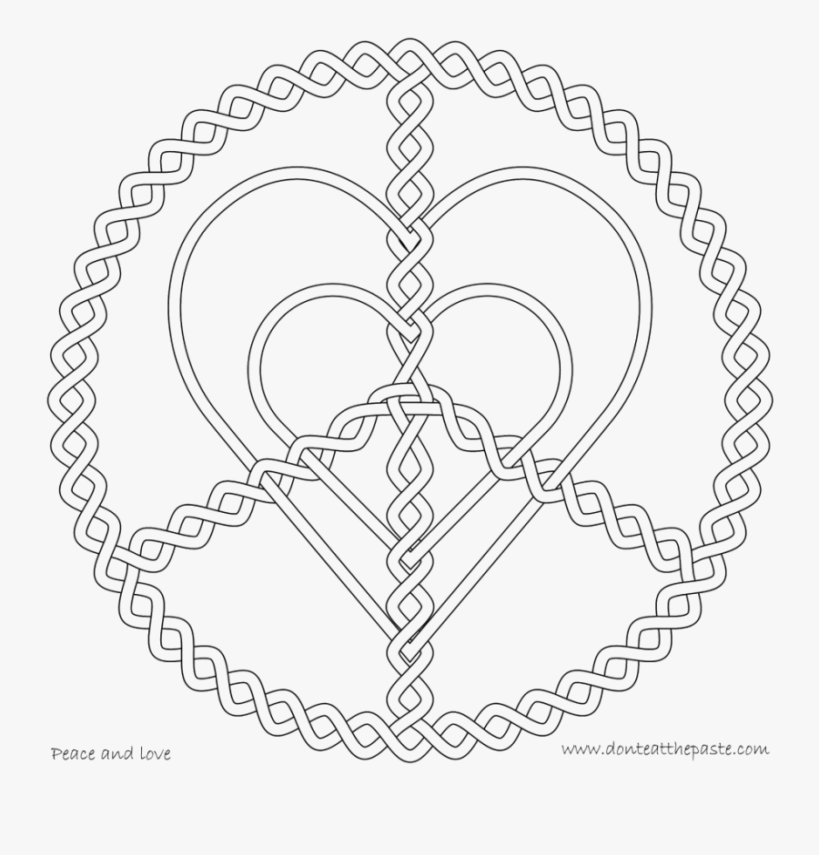 Jesus Loves Zacchaeus Coloring Pages Love Coloring - Heart Patterns Coloring Pages, Transparent Clipart