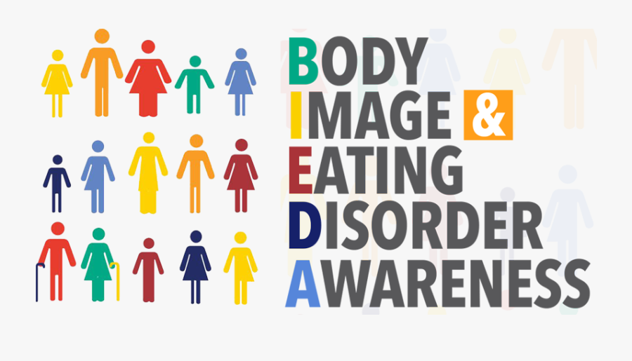 Iowa State University Student - Body Image And Eating Disorder Awareness, Transparent Clipart