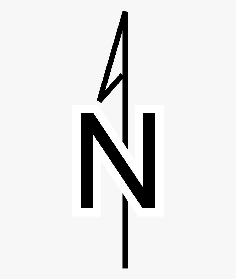 Simple Compass Rose - Rosa De Los Vientos Norte, Transparent Clipart