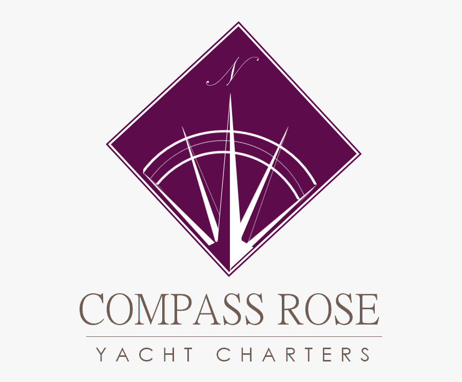Compass Rose Yacht Charters - Triangle, Transparent Clipart