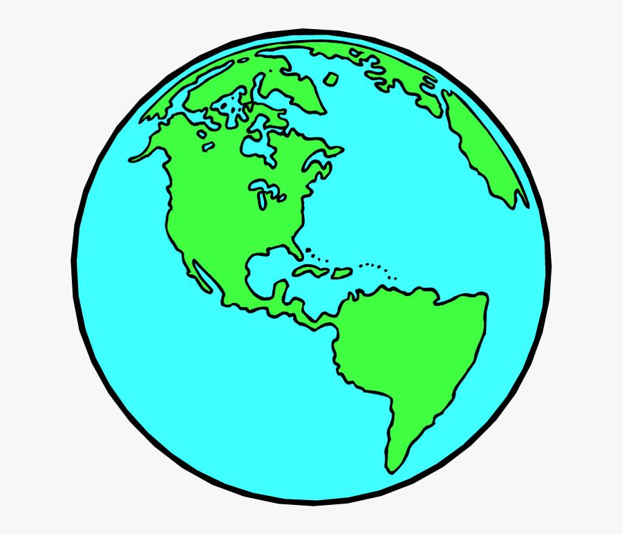 World Map - Friendship Day, Transparent Clipart