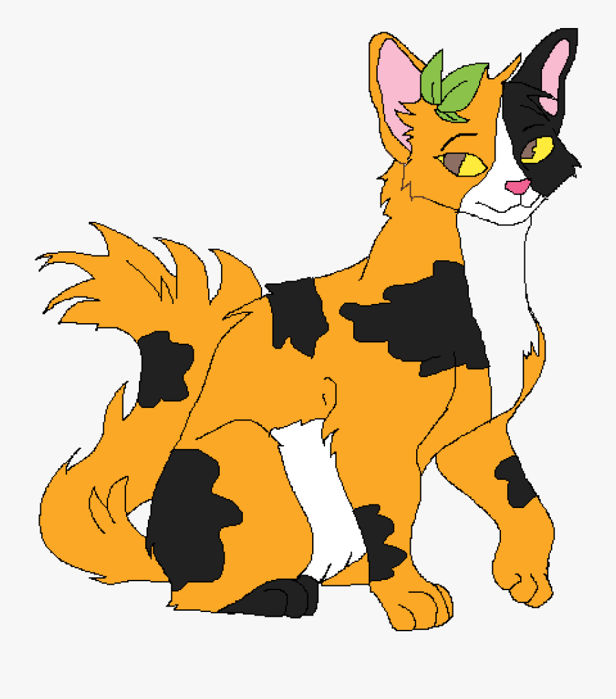 End Clipart Blingee - Drawing Spottedleaf Warriors Cats, Transparent Clipart
