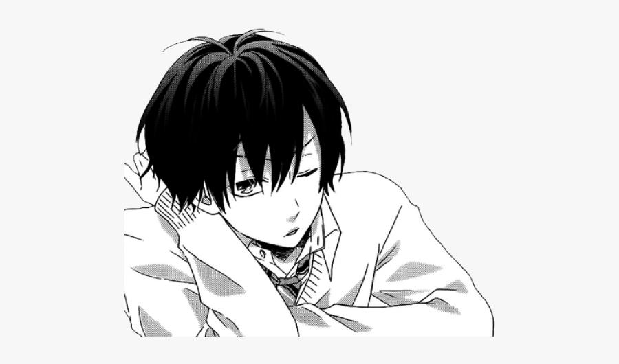 Transparent Background Anime Boy Png, Transparent Clipart
