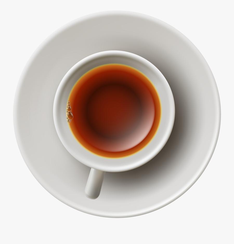 Png Tea Cup - Top View Tea Cup Png, Transparent Clipart