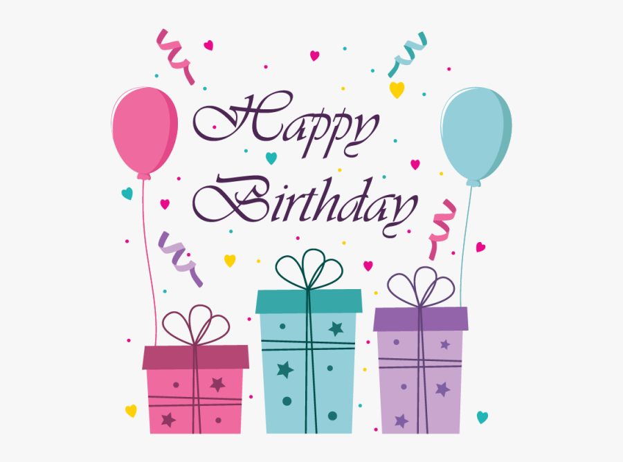 Clip Art Greeting Card And Banner - Happy Birthday Greeting Card Png, Transparent Clipart