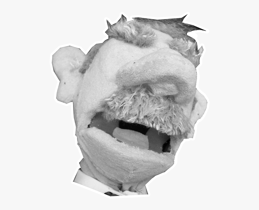 Transparent Angry Old Man Png, Transparent Clipart