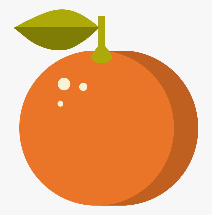 Free Online Orange Fruit Food Gourmet Vector For Design - Circle, Transparent Clipart