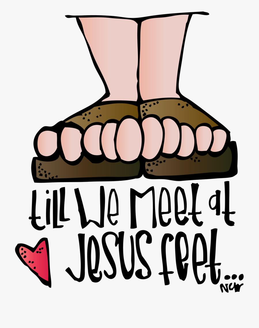 Jesus Feet Clipart, Transparent Clipart