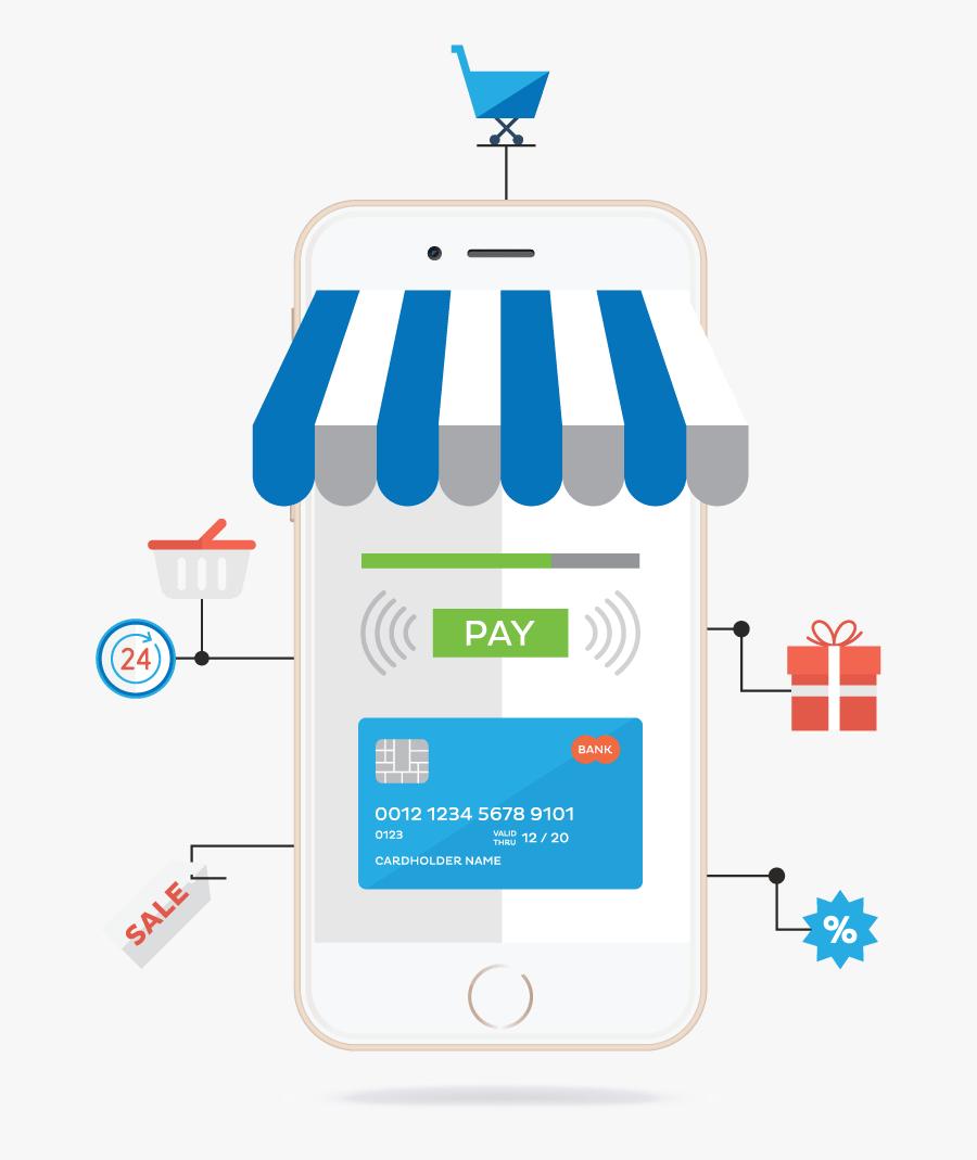 Mobile Money Payment App, Transparent Clipart