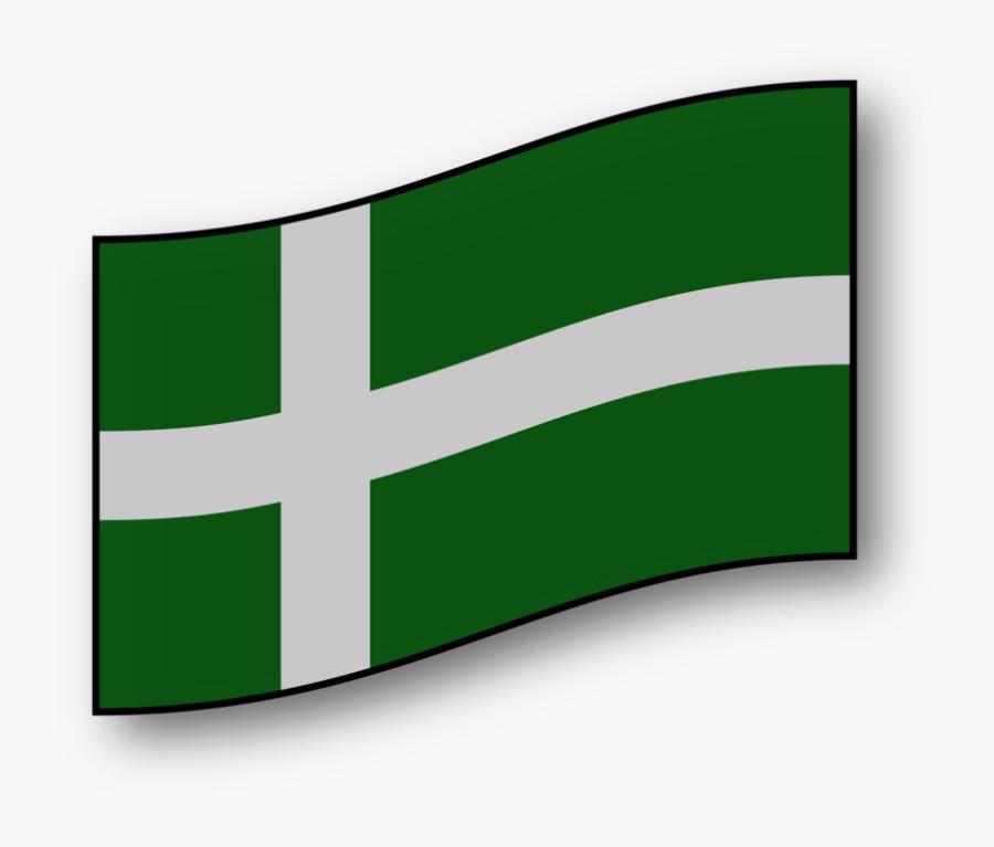 Barra Flag - Dibujo De La Bandera De Dinamarca, Transparent Clipart