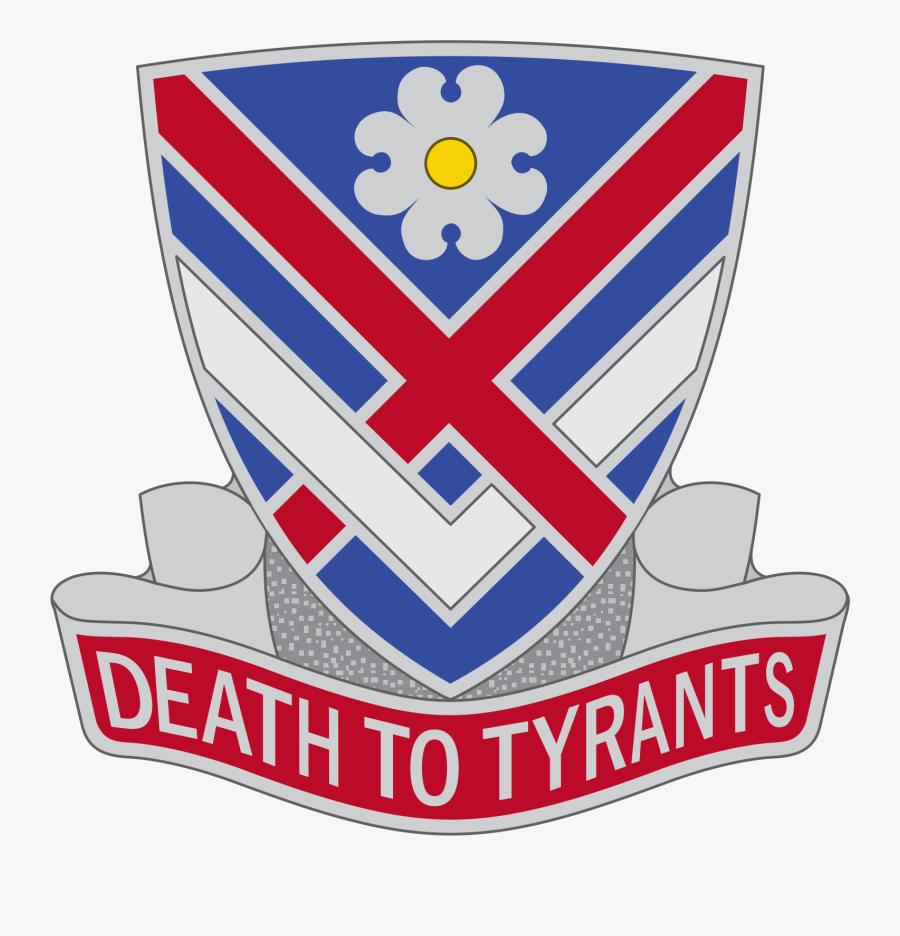 Us Army 183rd Cavalry Reg Dui, Transparent Clipart