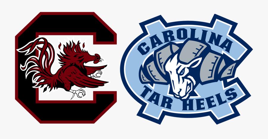 Transparent Usc Gamecock Clipart - North Carolina College Basketball Logo, Transparent Clipart