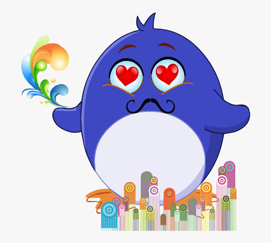 Emoji Clipart Rain - Cartoon, Transparent Clipart