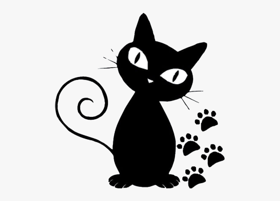 Persian Cat Norwegian Forest Cat Kitten Black Cat Cartoon Cat Paw Print Free Transparent Clipart Clipartkey