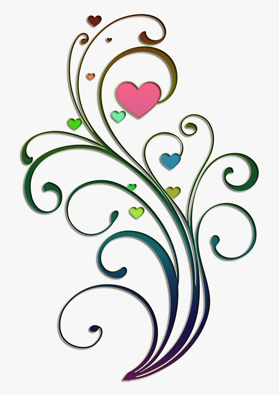 Design Heart Drawing - Heart Drawing Design, Transparent Clipart