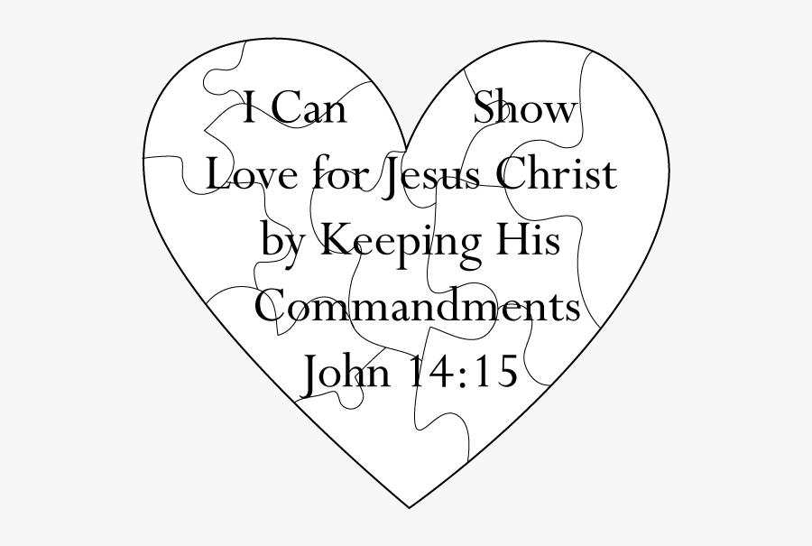 Clip Art Ctr A Lesson Christ - Puzzle Of Jesus Christ, Transparent Clipart