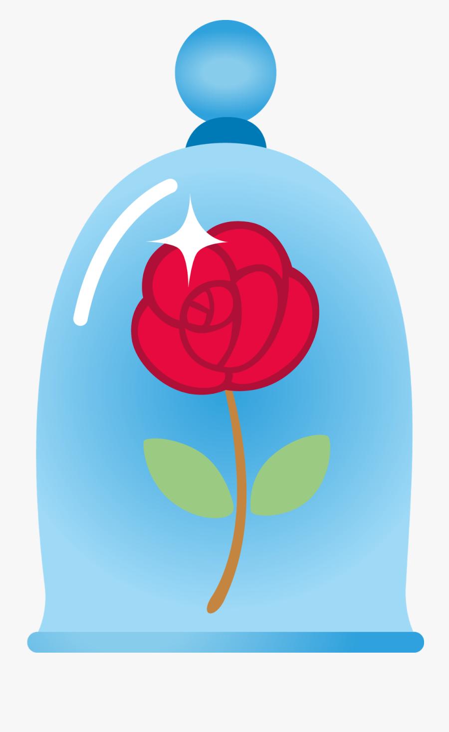 Rosa Bella Y Bestia Png Free Transparent Clipart Clipartkey