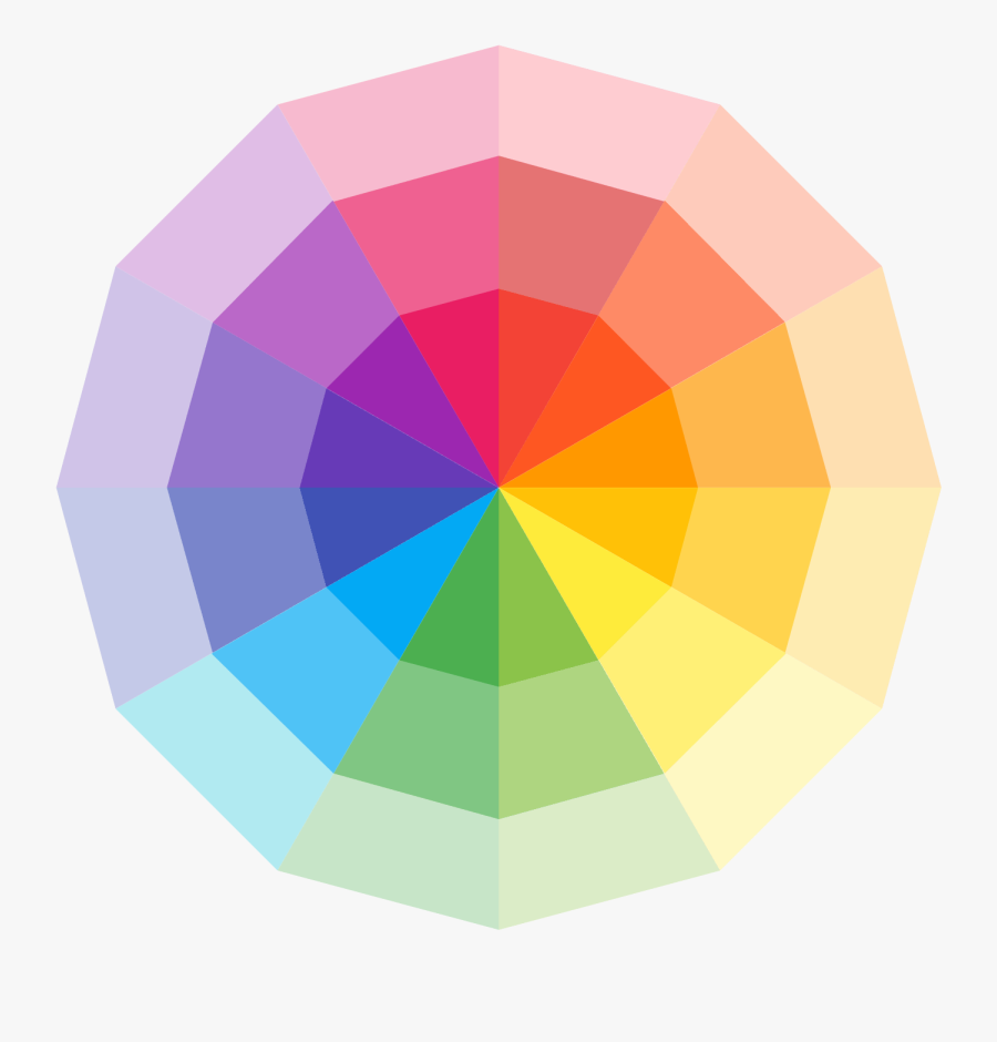 Color Wheel Icon Png - Circle Color Vector Png, Transparent Clipart
