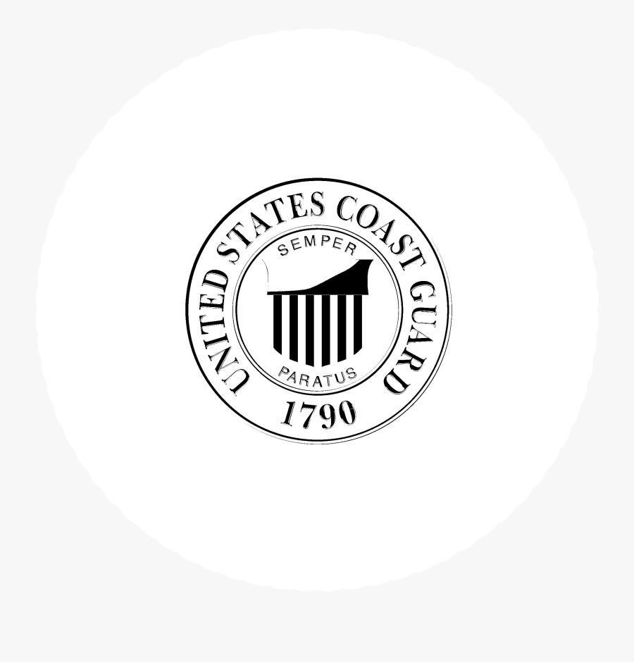 Transparent Coast Guard Logo Png - Circle, Transparent Clipart