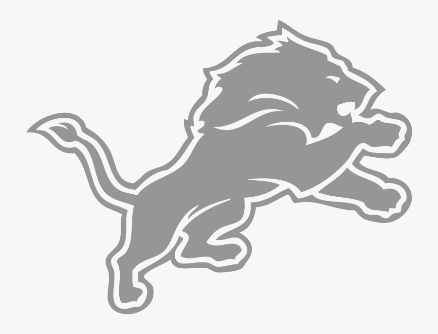 Drawing Lions Logo Detroit Lion Detroit Lions Black And